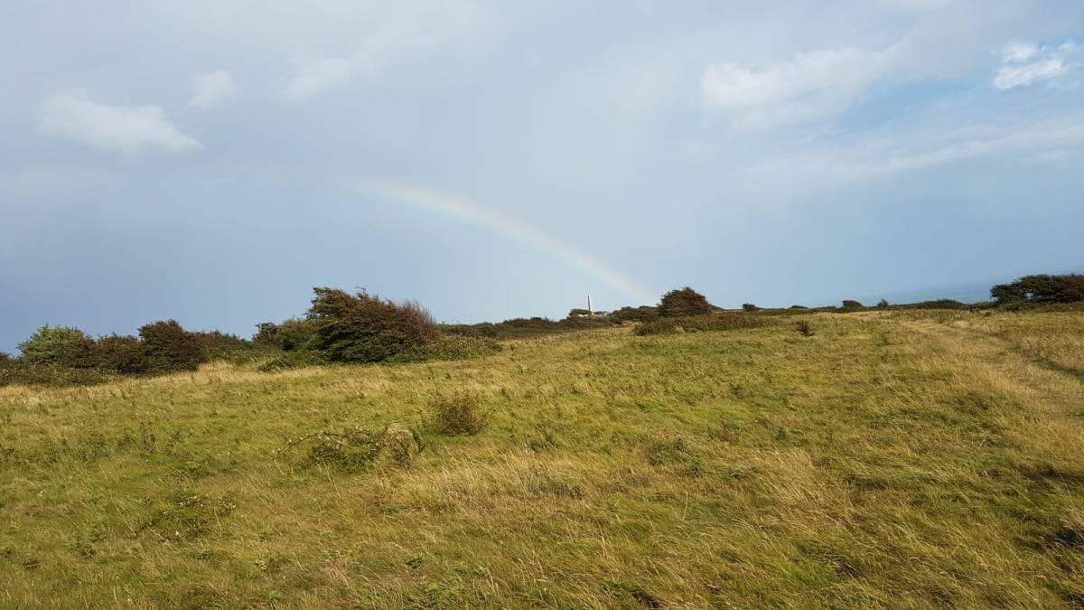 rainbow on Culver